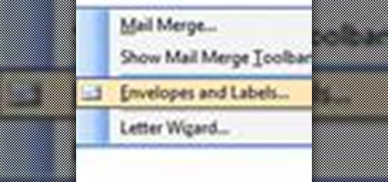 How to Make address labels in Microsoft Word « Microsoft Office - make labels in word