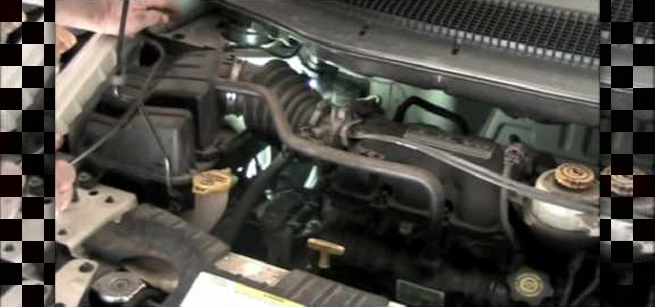 How to Find a leak in the evap on an \u002703 Dodge Caravan « Auto