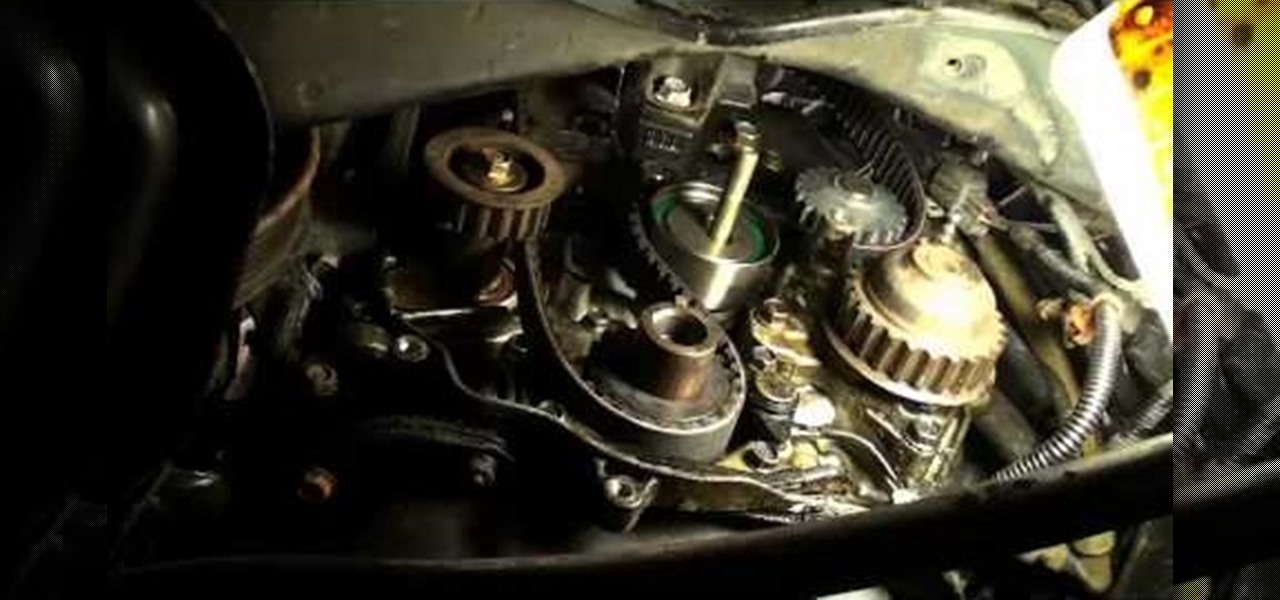 How to Replace the timing belt to a 1990-2002 Honda Accord
