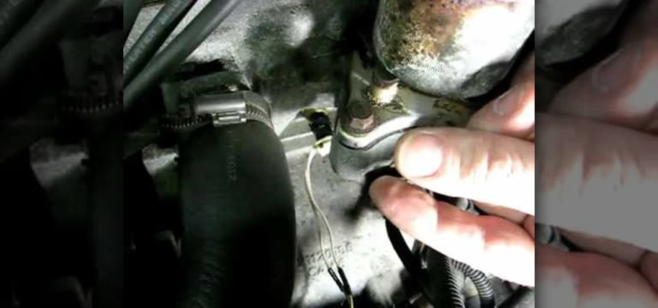 How to Replace a Saturn S-Series engine coolant temp sensor « Auto
