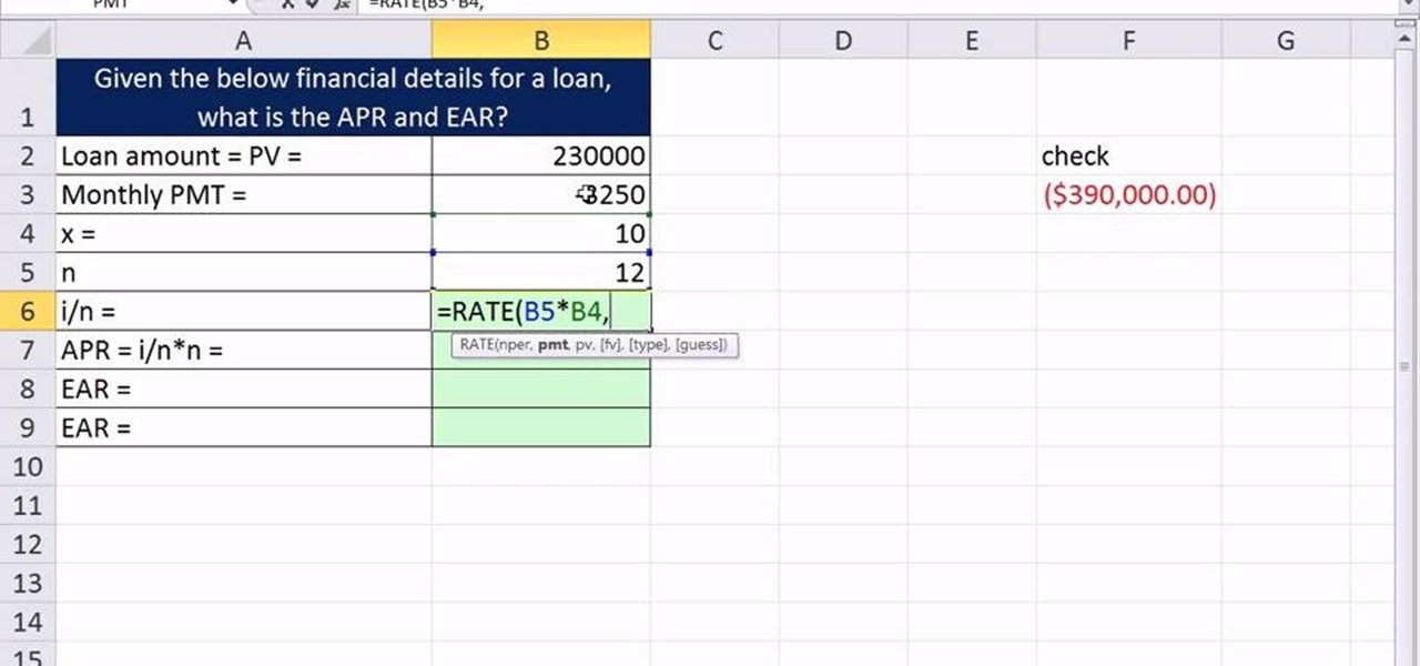 How to Value assets  analyze cash flows in Microsoft Excel
