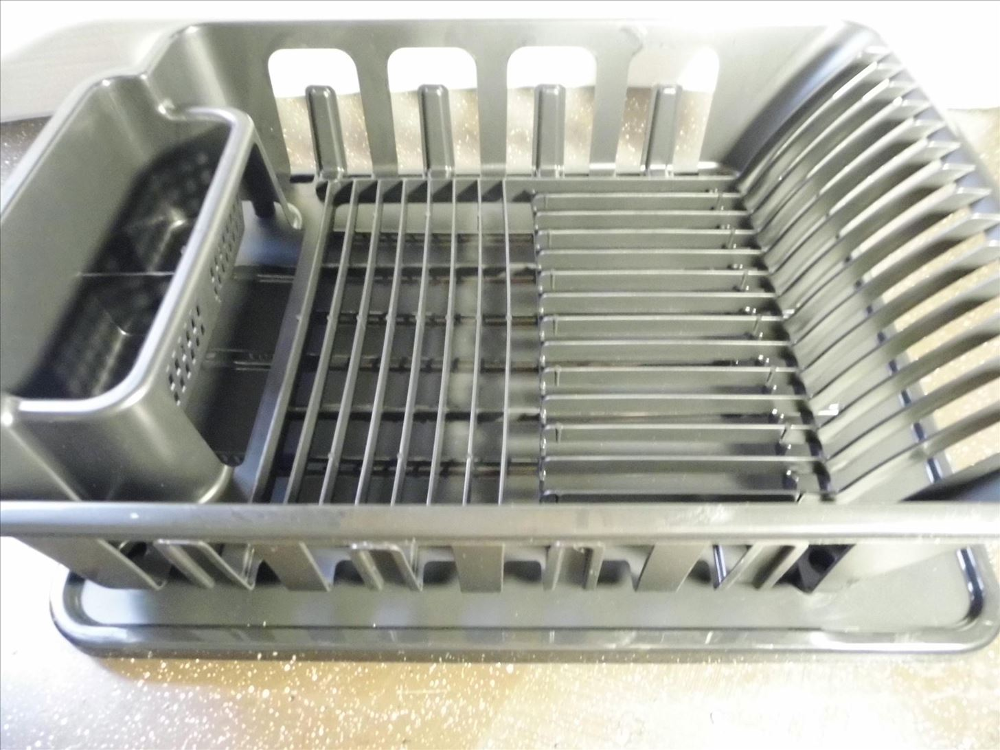 Draining Rack How To Slope Your Dish Rack Pan For Perfect Draining
