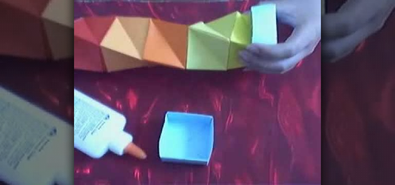 How To Make A Cool Paper Box Origami Wonderhowto