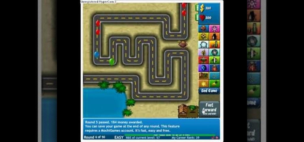 flash games bloons tower defense 5 - Gameonlineflash.com