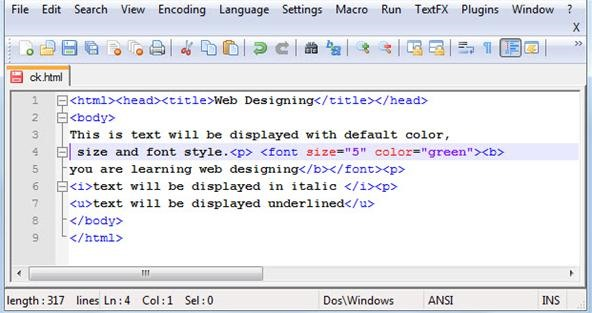 How-to Design Amazing Web Pages Using Basic HTML « Forward Computing