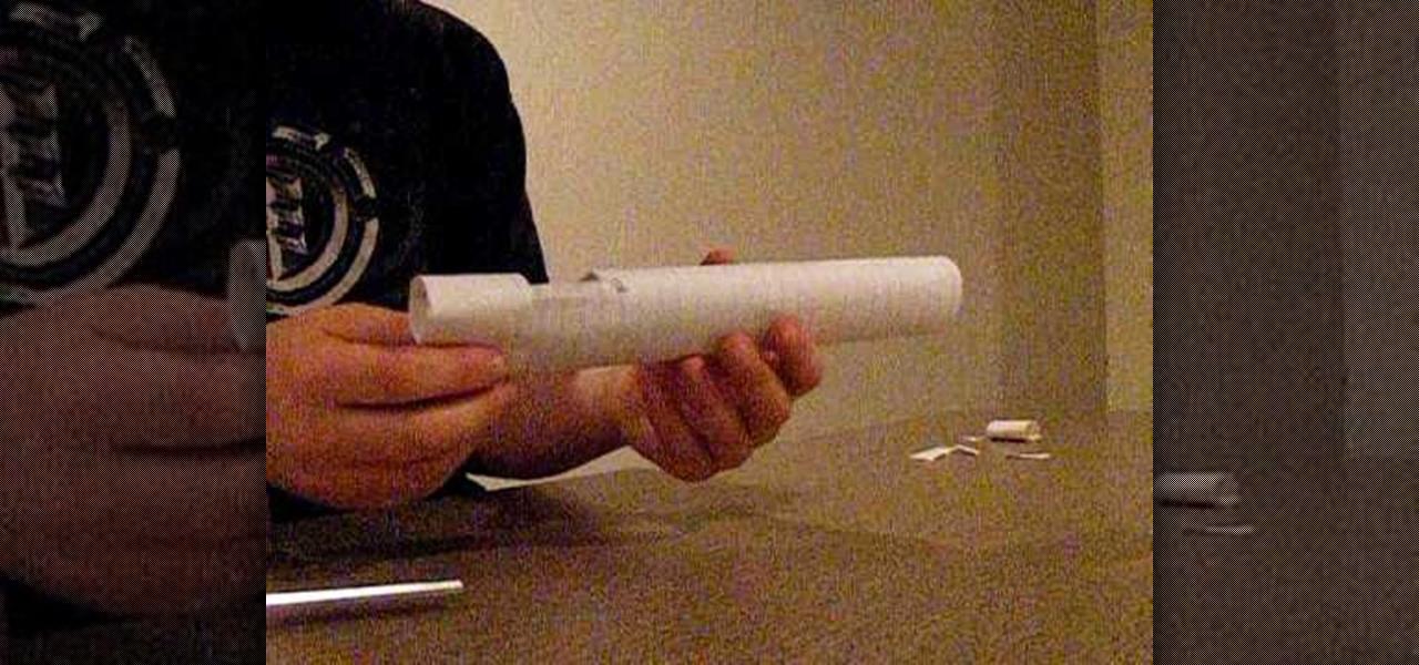 How to Make a paper gun that shoots sniper « Papercraft  WonderHowTo