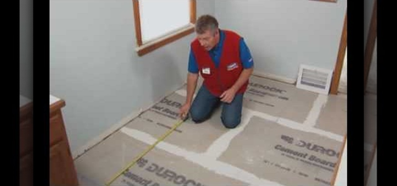 How To Install A Ceramic Or Porcelain Tile Floor With Lowe'S