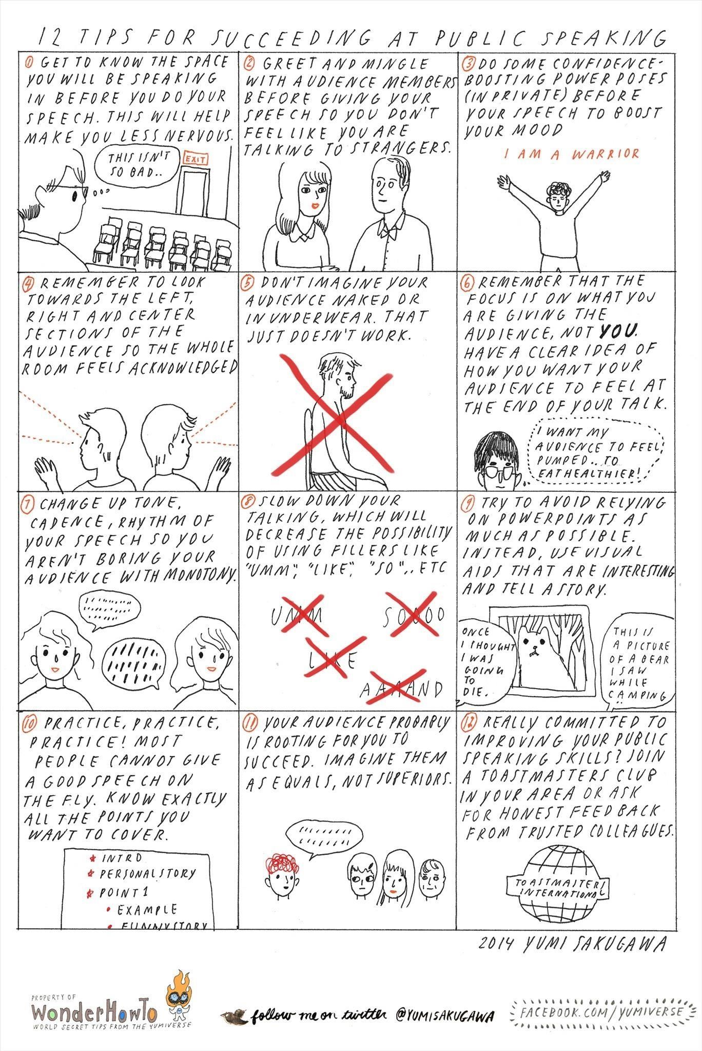 Public Speech Tips How To Speak Comfortably In Public 12 Tips For A Successful