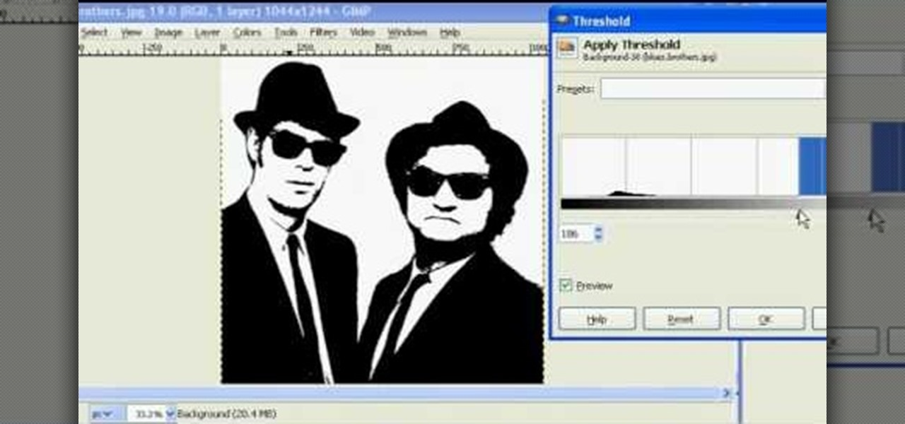 How to Make stencils in GIMP « Software Tips  WonderHowTo