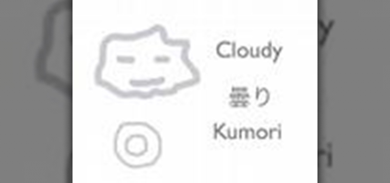How to Describe the weather in Japanese « Japanese Language