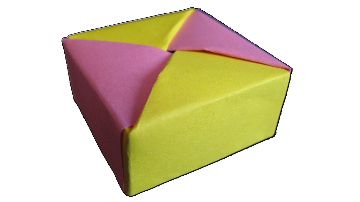 How To Make A Fancy Origami Box With Lid How To