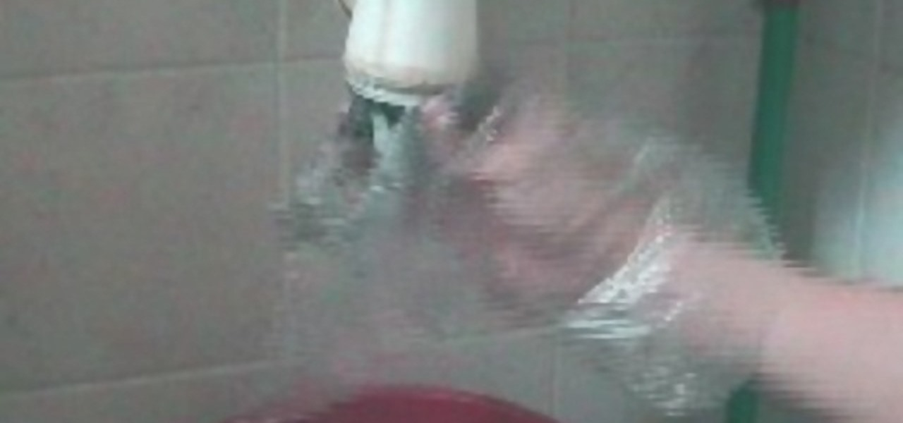 How To Clear A Choked Basin Housekeeping Wonderhowto