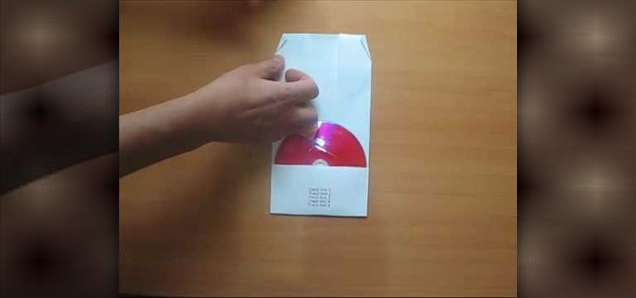 How to Create a CD cover with a sheet of paper « Origami  WonderHowTo