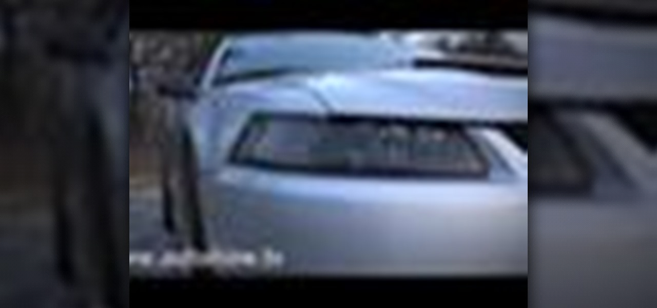 How to Replace the headlights on a 99-04 Mustang « Maintenance