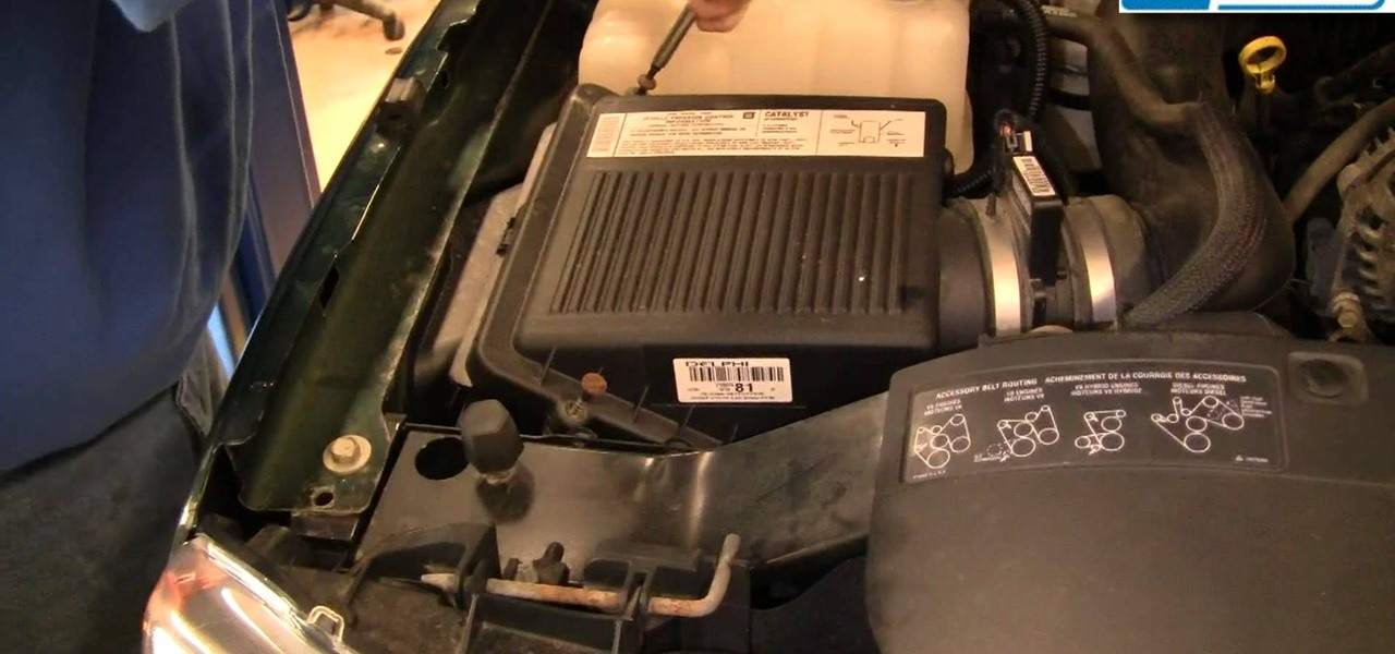 How to Replace the Engine Air Filter on a 99-06 Chevy SIlverado GMC