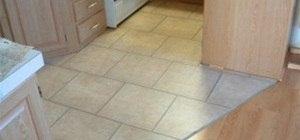 Installing Laminate Tile Over Ceramic Tile Diy Laminate