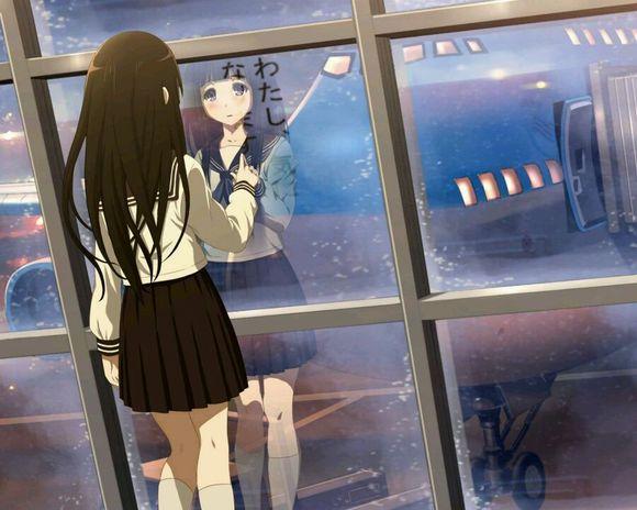 Www Girl Hd Wallpaper Com 动漫女生的伤感流泪图片:触感的空虚,是我说不出的遗憾 伤感图片 窝窝qq网