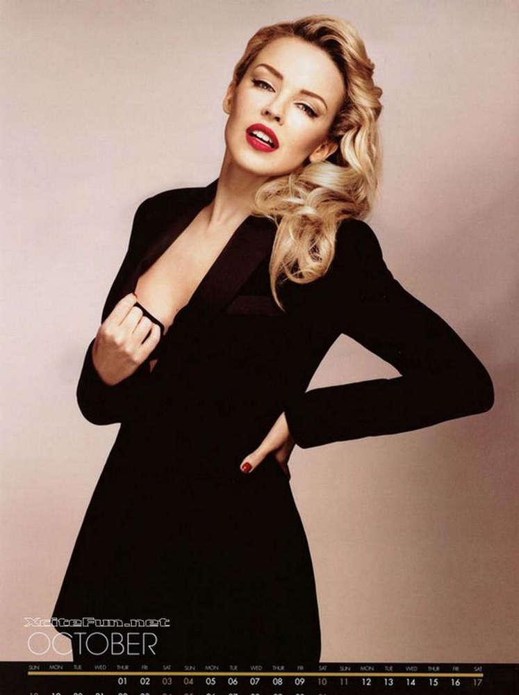 Wallpapers Clean Cute Desktop Kylie Minogue Miss Goody Official 2009 Calendar