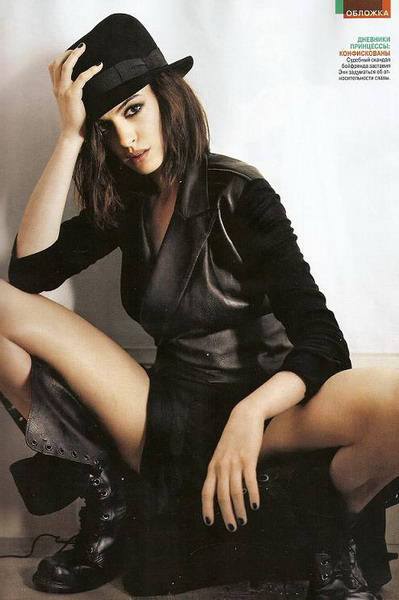 Cute And Pretty Wallpapers Anne Hathaway Russian Spread Gq Photo Shoot Xcitefun Net