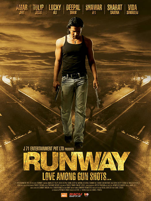 Bollywood Love Wallpapers With Quotes Runway Love Among Gun Shots Movie Posters Xcitefun Net