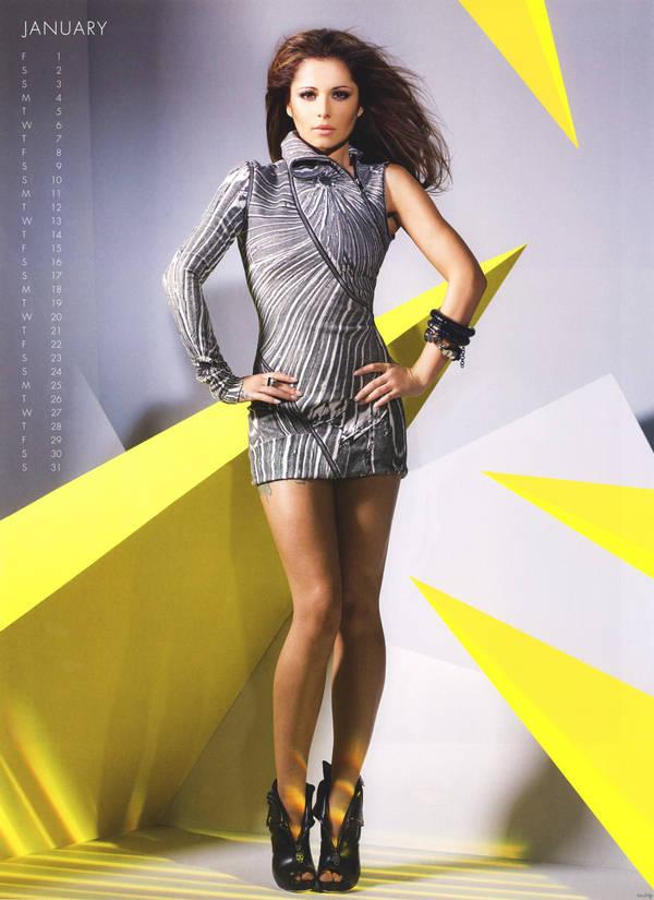 Shahid Wallpaper Hd Cheryl Cole New Year Calendar 2010 Xcitefun Net