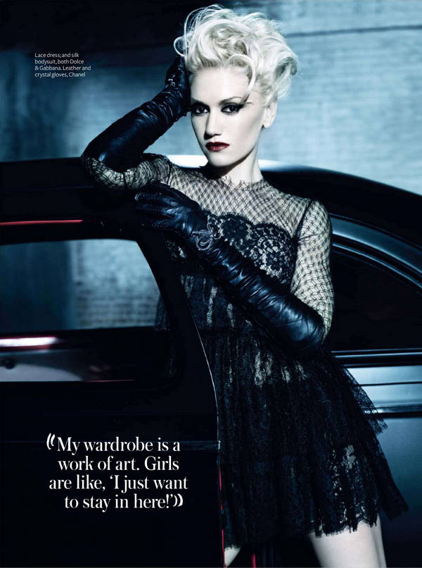 Cute Pics For Mobile Wallpapers Gwen Stefani Rock Star Fashion Queen Xcitefun Net