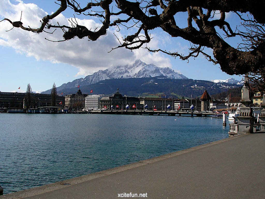 Cute And Popular Computer Wallpapers Lake Lucerne Switzerland Wallpapers Xcitefun Net