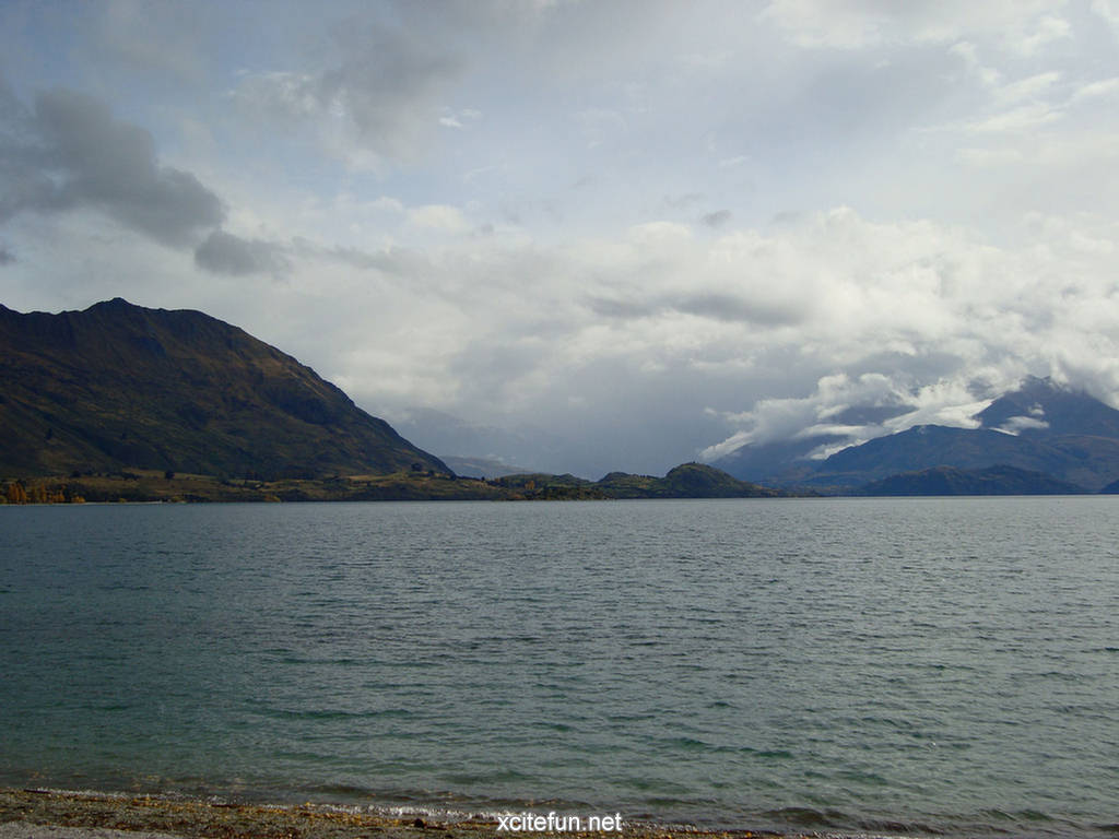 Deep Quotes Wallpapers Wanaka Lake New Zealand Wallpapers Xcitefun Net