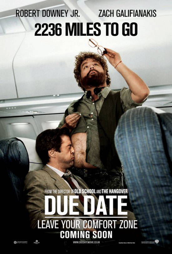 Cute Funny Wallpapers For Mobile Due Date Movie Posters And Trailer Colored With Comedy