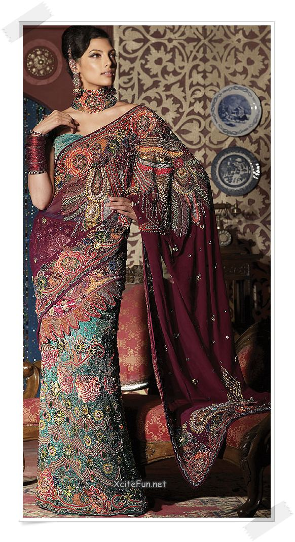 Cute Babies Wallpapers Photos Shimmer Saree Embroidered With Zari Work Xcitefun Net