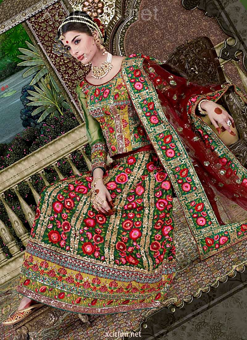 Very Very Cute Wallpapers Embroidered Lehenga Cholis Rajasthani Style Xcitefun Net
