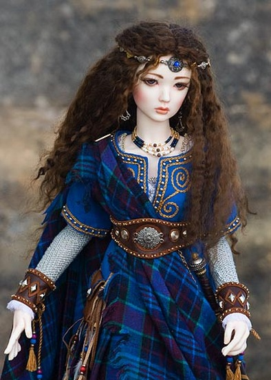 Girl Soldier Wallpaper Arwyn A Celtic Warrior Maiden Bjd Xcitefun Net