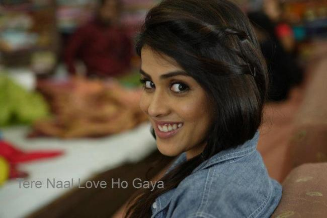 Cute Genelia D Souza Wallpapers Tere Naal Love Ho Gaya Movie Stills Xcitefun Net