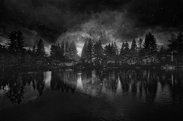 I Am Alone Quotes Wallpaper Dark Mysterious Smoke Xcitefun Net