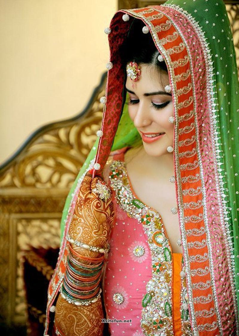 Alone Girl Wallpapers New Asian Bridal Eye Makeup Jewelry And Hairstyle Xcitefun Net