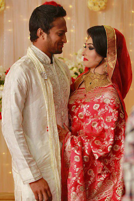 Top Spinner Shakib Al Hasan Wedding Pictures With Wife - Xcitefun.net