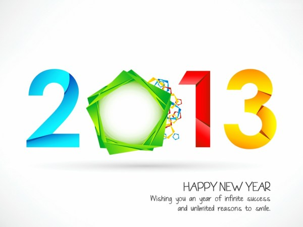 Happy New Year 2013 Greeting Cards Collection. 1024 x 768.Sample Greetings For Happy New Year