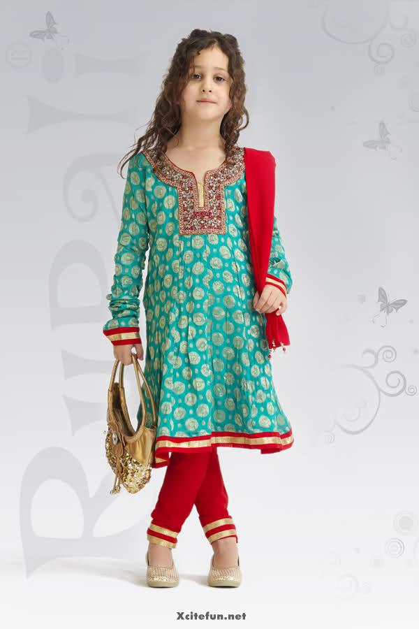 Cute Indian Baby Wallpapers Baby Girl Party Wear Dress Collection Xcitefun Net