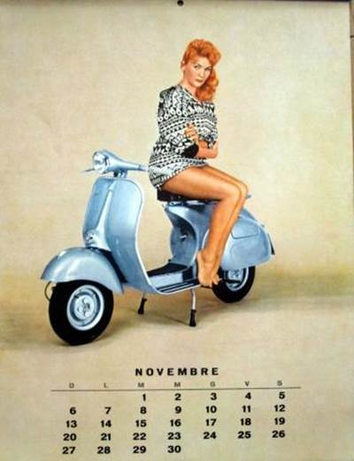 Country Girl Wallpapers Mobile Vespa Love 1960 Calendar Xcitefun Net