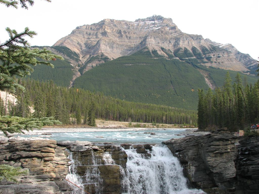 Cool Wallpapers Water Fall Athabasca Falls Images Natural Beauty Of Canada