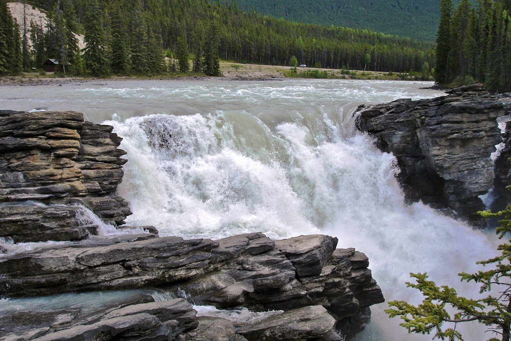 Inspirational Quotes For Computer Wallpapers Athabasca Falls Images Natural Beauty Of Canada