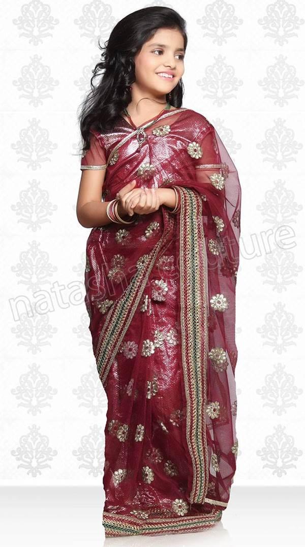 Cute Sweet Baby Girl Wallpapers Designer Sarees For Baby Girls Xcitefun Net