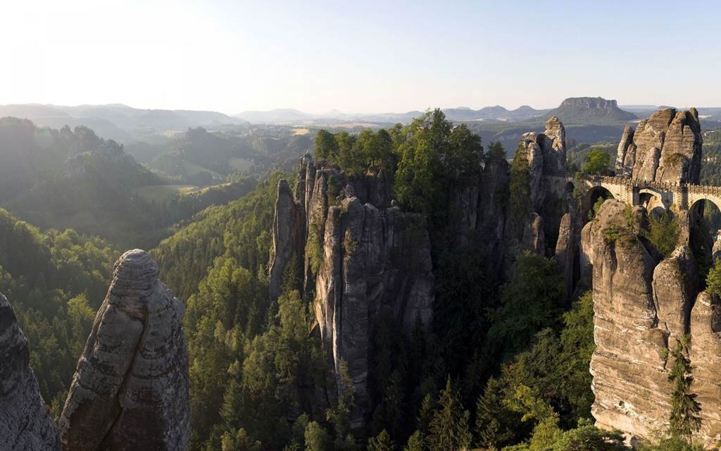 Computer Wallpapers Quotes Bastei Bridge Germany Images N Detail Xcitefun Net