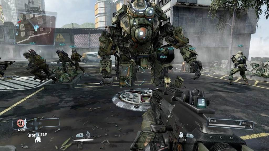 Free Fall Wallpapers For My Phone Titanfall Gaming Wallpapers First Person Shooter