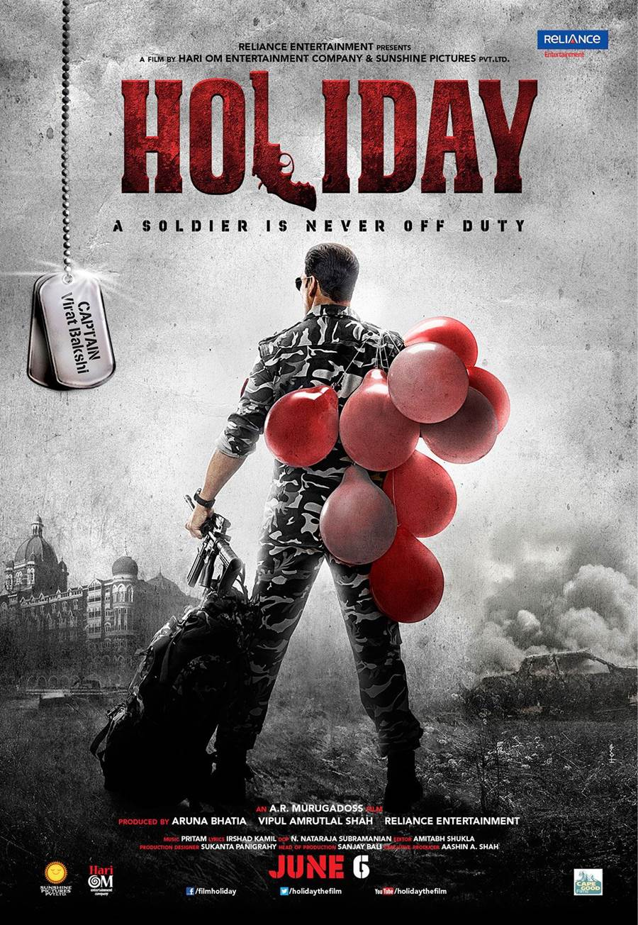Film The Holiday Holiday Movie Posters - Akshay Kumar - Xcitefun.net