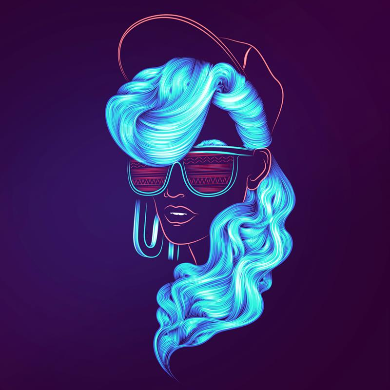 Awesome Cute Skull Wallpapers Awesome Digital Portrait Electric Art Xcitefun Net