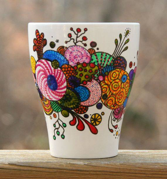 So Cute Good Morning Wallpapers Creative Hand Painted Coffee Mug Designs Xcitefun Net
