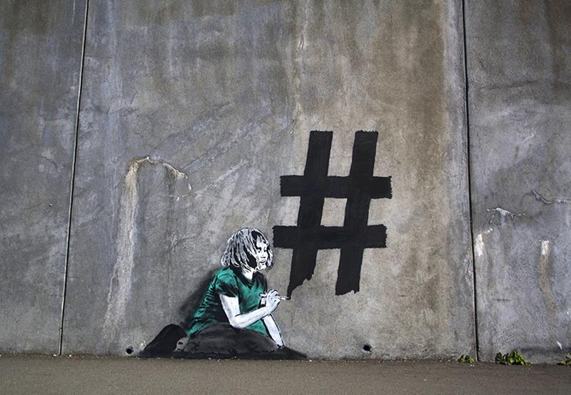 Most Beautiful Wallpapers With Quotes Nobody Likes Me Social Media Artwork By Banksy
