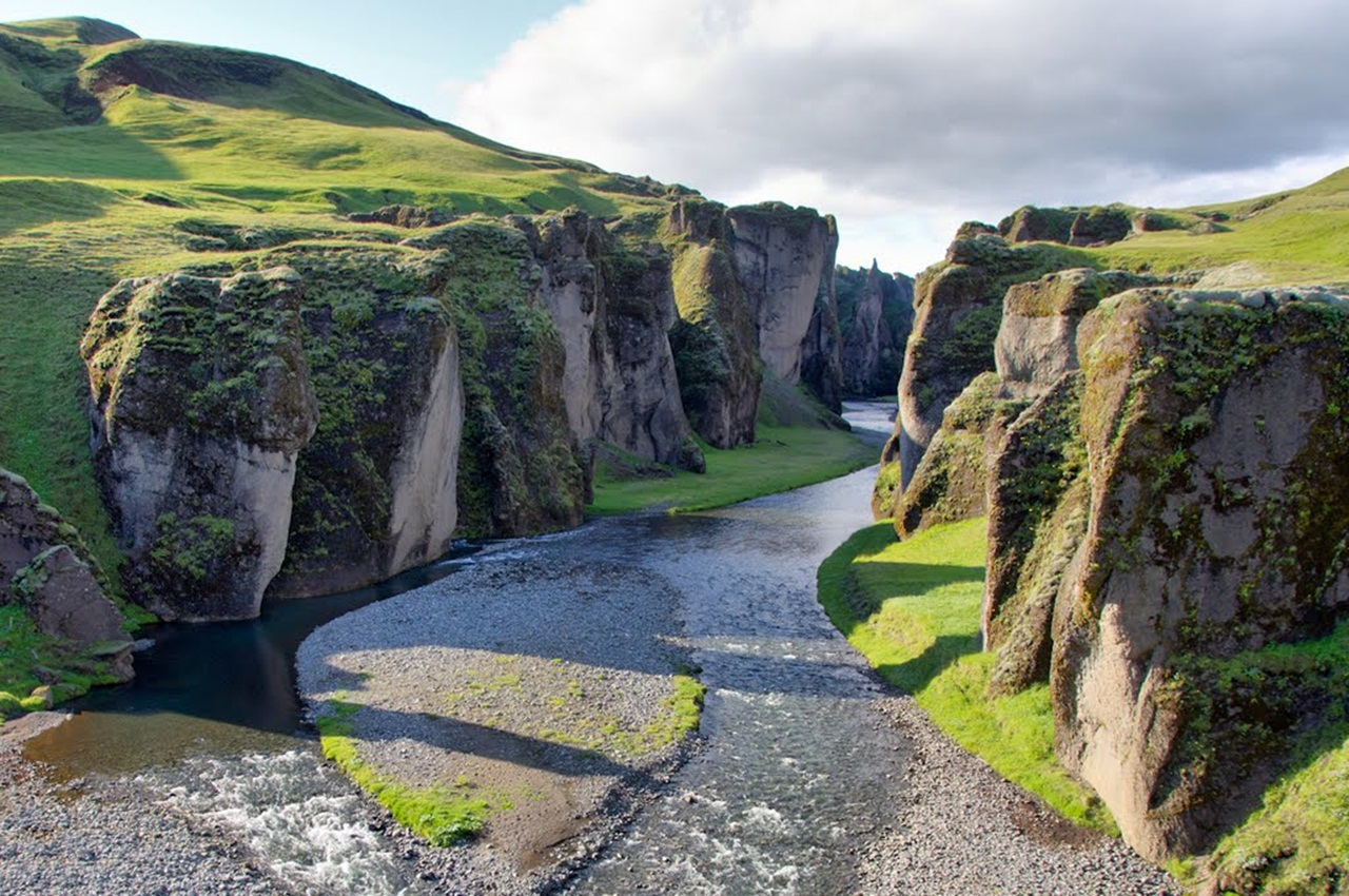 Apps For Quotes Wallpapers Visit To Fjadrargljufur Canyon Iceland Xcitefun Net