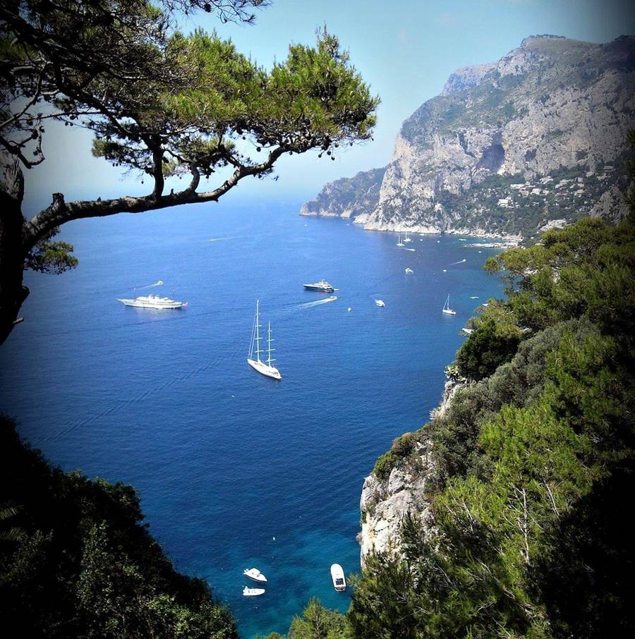 Awesome Phone Wallpapers Quotes Amazing Journey To Capri Island In Naples Italy